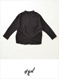 [#girl]フロントカシュクールシャツ