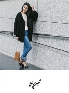 [#girl]トレーナーミディコート