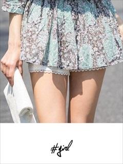 [#girl]クロシェレースショートパンツ