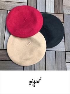 [#girl]ベレー帽
