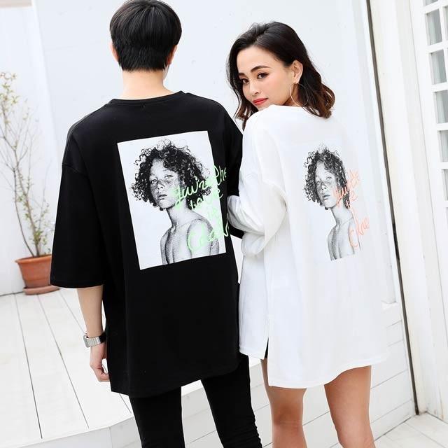 アーバンレディビックTシャツ[カジュアル/dazzy closet]
