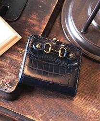 クロコビット財布【Web価格】(紺-M)