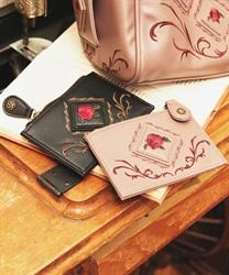 バラパッチワークカードケース