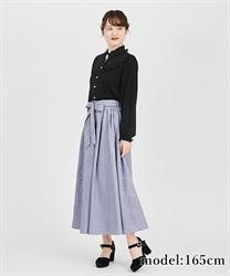 【OUTLET】オーナメントジャガードスカート
