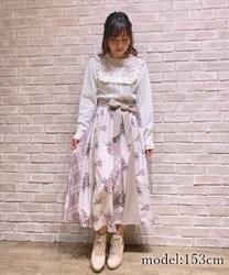 パッチワークミディスカート