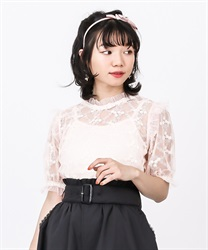 【OUTLET】レーシーブラウス