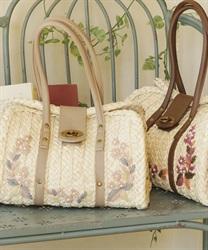 雑材ハンド刺繍バッグ