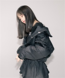 【予約】ボリューム中綿ショートジャケット