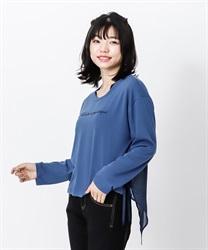 【OUTLET】【Web価格】バックデザインティーシャツ