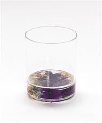 パープル水中花タンブラー(グロス-M)