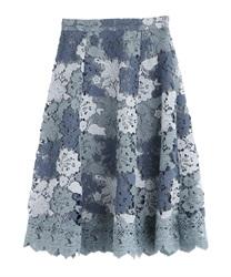 【OUTLET】マルチケミカルスカート(紺-M)