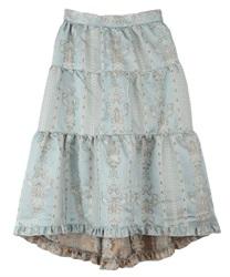 【OUTLET】フィッシュテールジャカードスカート