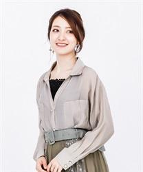 【OUTLET】【Web価格】シアー素材長袖シャツ