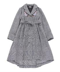 【OUTLET】刺繍フィッシュテールコート