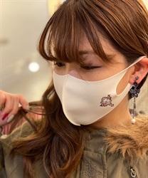 【均一価格/WEB限定】ローズガーデンプリントマスク