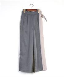 【均一価格/WEB限定】配色デザインパンツ(紺-M)