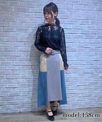 ベルト付ブロッキングスカート