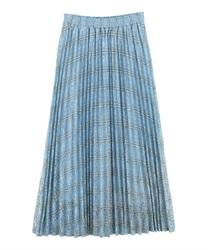 【OUTLET】チェック柄プリーツスカート