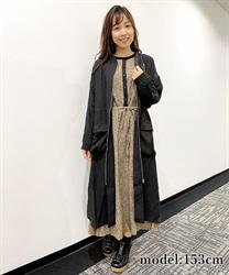 【10%OFF対象】シャーリングロングMA-1