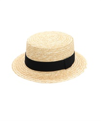 【OUTLET】【GWフェア/2点10%OFF対象】【GWフェア/Web価格】麦ブレードカンカン帽