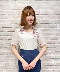 【二次予約】パピヨンフルール刺繍プルオーバー【Web限定商品】