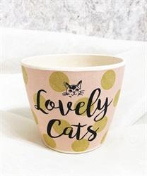 Lovely Cats バンブーファイバーカップA