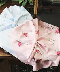 ローズ柄UVひんやりスカーフ