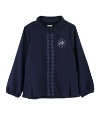 【OUTLET】【Web限定】(キッズ)裾プリーツフェミニンパーカー