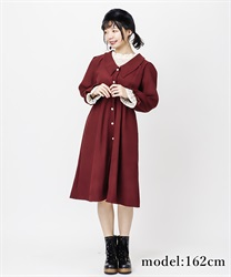 【OUTLET】レース重ねワンピース