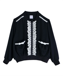 【OUTLET】【Web限定】(キッズ)シフォンブルゾン
