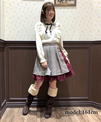 【OUTLET】【Web価格】バイカラーキュロット