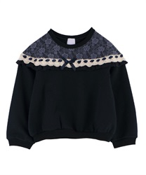 【OUTLET】【Web限定】(キッズ)裏シャギーガーリートレーナー