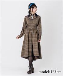 【OUTLET】オーバースカート付パンツ