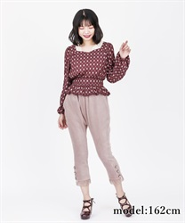 【OUTLET】【Web価格】カットジョッパーズパンツ