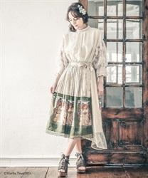 ミュシャ パネル柄スカート