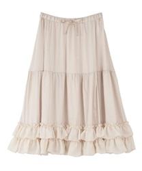 □ミディフリルペチスカート