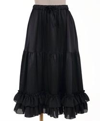 ミディフリルペチスカート