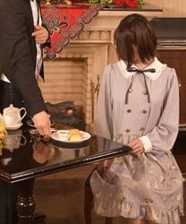 【予約】音符リボンリリーラビットワンピース~執事喫茶スワロウテイルコラボワンピース~