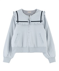 【OUTLET】【Web限定】セーラーブルゾン(グレー-M)