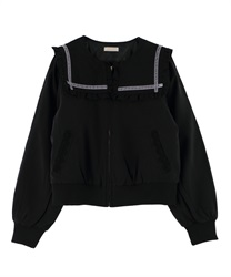 【OUTLET】【Web限定】セーラーブルゾン(黒-M)