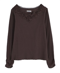 【OUTLET】お花モチーフレースインナー