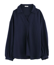 【OUTLET】【Web限定】後ろフリルスキッパーシャツ