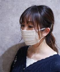 レースマスク(生成り-M)