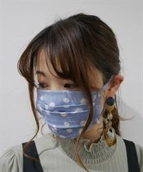 デニム風マーガレットマスク