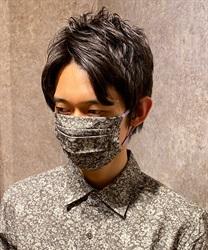 小花柄男女兼用マスク