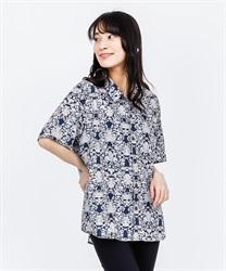 【OUTLET】オーナメントハワイアンシャツ